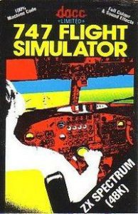 747 Flight Simulator per Sinclair ZX Spectrum