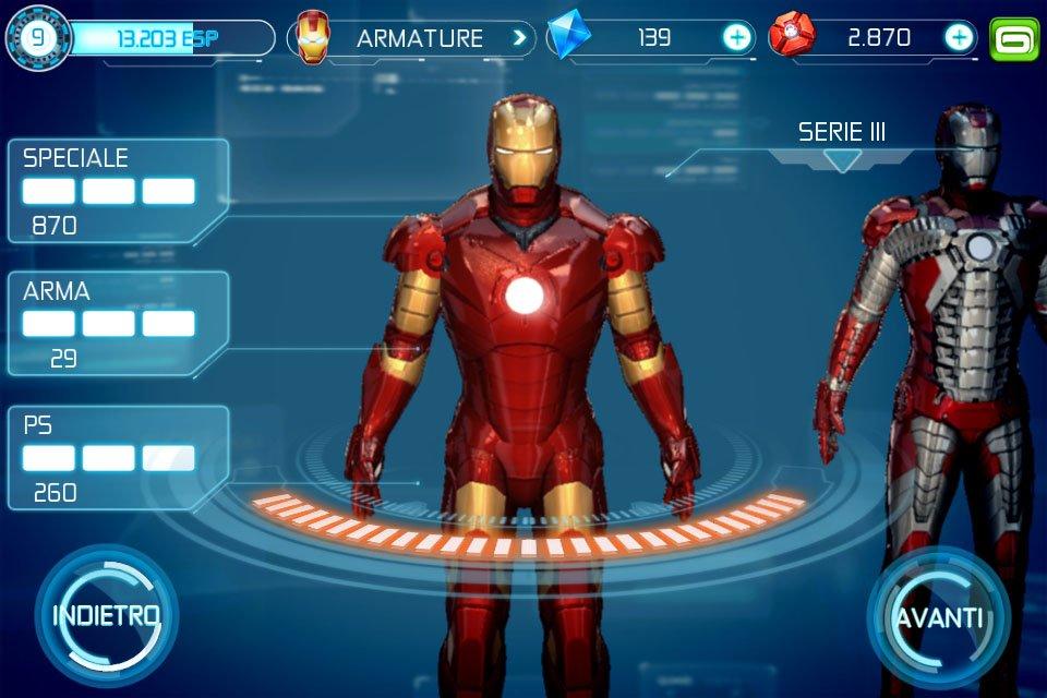 Iron man 3 il gioco