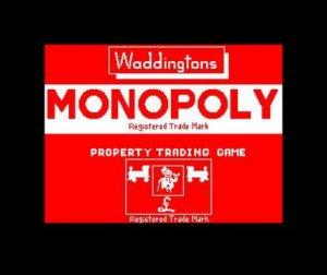 Waddingtons Monopoly per Sinclair ZX Spectrum