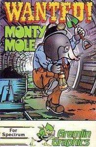 Wanted: Monty Mole per Sinclair ZX Spectrum