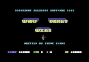 Who Dares Wins per Sinclair ZX Spectrum