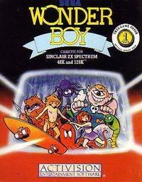 Wonder Boy per Sinclair ZX Spectrum
