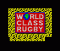World Class Rugby per Sinclair ZX Spectrum