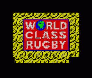 World Class Rugby per Sinclair ZX Spectrum