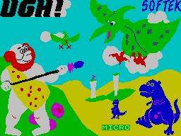 Ugh! per Sinclair ZX Spectrum