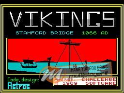 Vikings 1989 per Sinclair ZX Spectrum