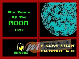 Tears of the Moon per Sinclair ZX Spectrum
