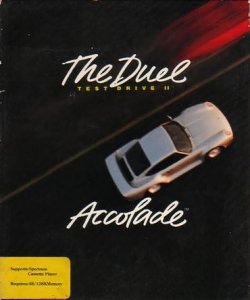 Test Drive II: The Duel per Sinclair ZX Spectrum