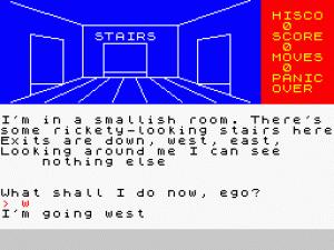 The Alien City per Sinclair ZX Spectrum