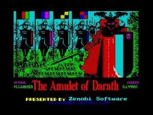 The Amulet of Darath per Sinclair ZX Spectrum