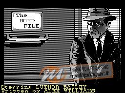 The Boyd File per Sinclair ZX Spectrum