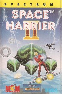 Space Harrier II per Sinclair ZX Spectrum