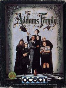 The Addams Family per Sinclair ZX Spectrum