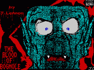 The Blood of Bogmole per Sinclair ZX Spectrum