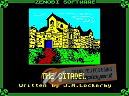 The Citadel per Sinclair ZX Spectrum