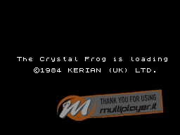 The Crystal Frog per Sinclair ZX Spectrum