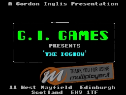 The Dogboy per Sinclair ZX Spectrum