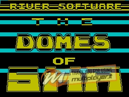 The Domes of Sha per Sinclair ZX Spectrum