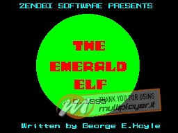 The Emerald Elf per Sinclair ZX Spectrum
