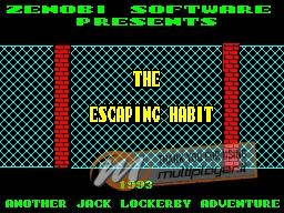 The Escaping Habit per Sinclair ZX Spectrum