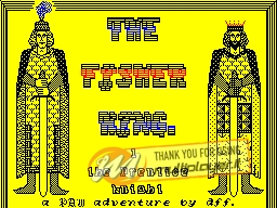 The Fisher King per Sinclair ZX Spectrum