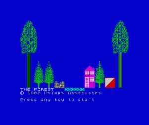 The Forest per Sinclair ZX Spectrum