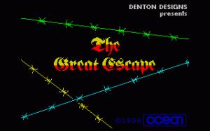 The Great Escape (La Grande Fuga) per Sinclair ZX Spectrum