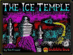 The Ice Temple per Sinclair ZX Spectrum