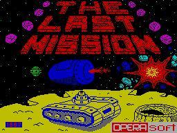 The Last Mission per Sinclair ZX Spectrum