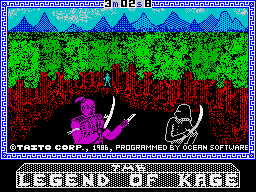 The Legend of Kage per Sinclair ZX Spectrum