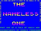 The Nameless One per Sinclair ZX Spectrum