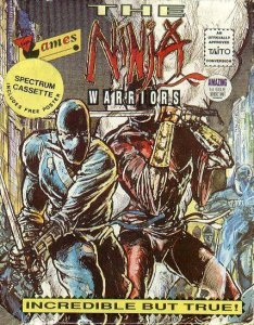 The Ninja Warriors per Sinclair ZX Spectrum