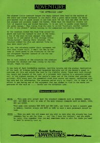 The Oppressed Land per Sinclair ZX Spectrum