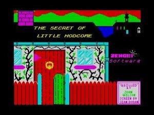 The Secret of Little Hodcome per Sinclair ZX Spectrum