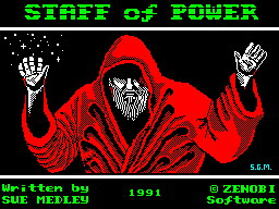 The Staff of Power per Sinclair ZX Spectrum