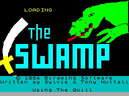 The Swamp per Sinclair ZX Spectrum