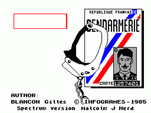 The Vera Cruz Affair per Sinclair ZX Spectrum