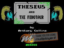 Theseus and the Minotaur per Sinclair ZX Spectrum
