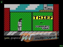 Thief per Sinclair ZX Spectrum