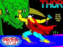 Thor per Sinclair ZX Spectrum