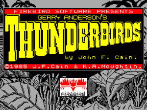 Thunderbirds 1985 per Sinclair ZX Spectrum