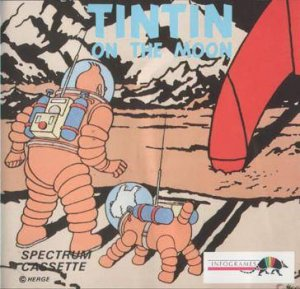 Tintin on the Moon per Sinclair ZX Spectrum