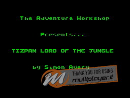 Tizpan, Lord of the Jungle per Sinclair ZX Spectrum