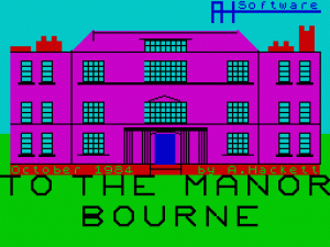 To the Manor Bourne per Sinclair ZX Spectrum