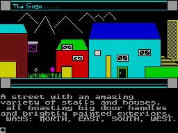 Saga of a Mad Barbarian per Sinclair ZX Spectrum