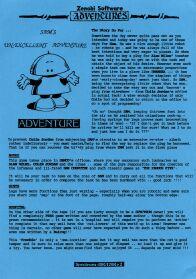 Sam's Un-Excellent Adventure per Sinclair ZX Spectrum
