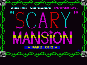 Scary Mansion per Sinclair ZX Spectrum