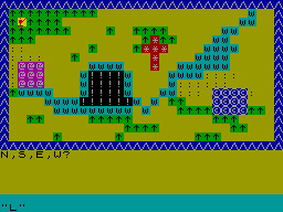 Secret Valley per Sinclair ZX Spectrum