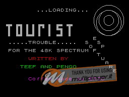 Tourist Trouble per Sinclair ZX Spectrum