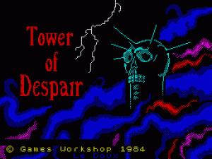 Tower of Despair per Sinclair ZX Spectrum